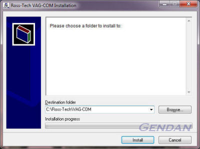 Gendan Automotive Products :: VAG-COM 409 1 on Windows 7