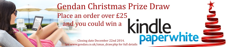 Gendan Christmas Draw 2014 - Win a Kindle Paperwhite!