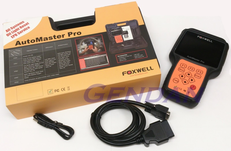 Foxwell NT644 Professional Diagnostic System - All systems
