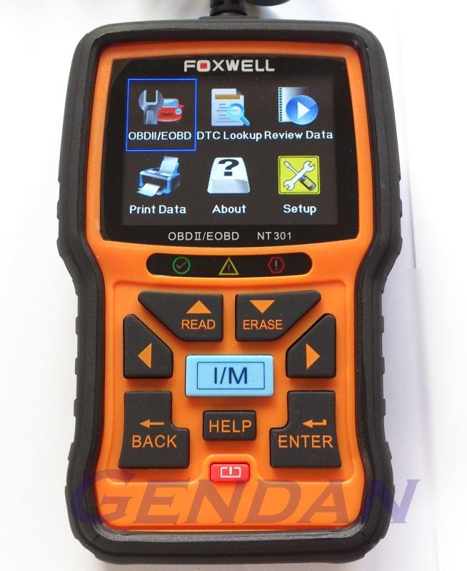 Foxwell NT301 EOBD OBD-II Diagnostic Scan Tool with live