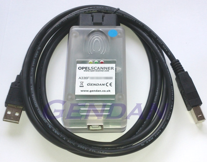 Opel-Scanner Diagnostic System for Vauxhall and Opel cars
