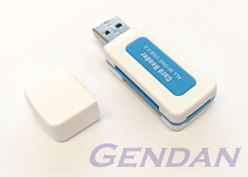 Mini Sd Kartenleser.Usb Card Reader For Sd Sdhc Mini Sd Micro Sd Ms And M2