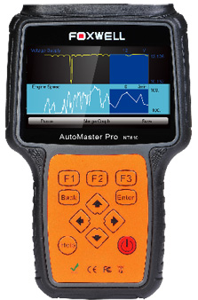 Foxwell NT614 Enthusiast Diagnostic System - Engine, SRS, ABS and