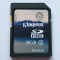 Kingston 16GB Secure Digital High Capacity (SDHC) Memory Card - Class 4