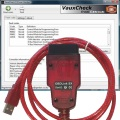 VauxCheck Software with OBDLink SX USB interface