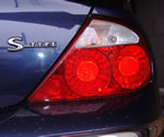 Jaguar S-Type rear light