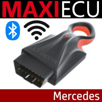 MaxiECU for Mercedes cars - Wireless
