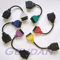 MultiECUScan Coloured Adaptor Cables