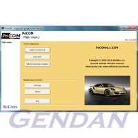 PoCOM Advanced Porsche Diagnostic Package