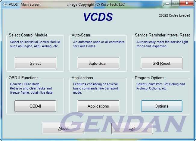 Ross-Tech VCDS USB PC diagnostics package for VW, Audi, Seat, Skoda