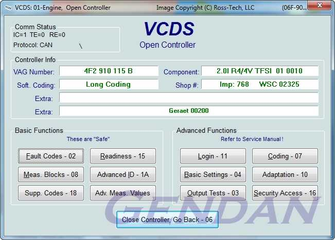 ross tech vcds usb pc diagnostics package for vw audi seat skoda cars 1996 2015. Black Bedroom Furniture Sets. Home Design Ideas